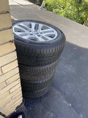 4 BMW rims and tires for Sale in The Bronx, NY