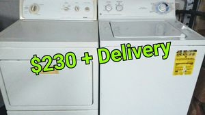 Kenmore GE Washer Gas Dryer set. Would Deliver for Sale in San Diego, CA