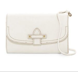 "FRYE ""CASEY"" WHITE LEATHER PURSE CROSSBODY WALLET GREAT GIFT! for Sale in Chandler, AZ"