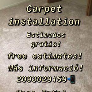Carpett INSTALLAMENTt!!!! Ablamos Español for Sale in Phoenix, AZ