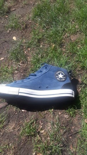 Size 10 Converse Chuck Taylor's Blue for Sale in Portland, OR