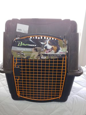 Brand New RuffMaxx Camouflage Dog Kennel 50-70 lbs. for Sale in Cottleville, MO