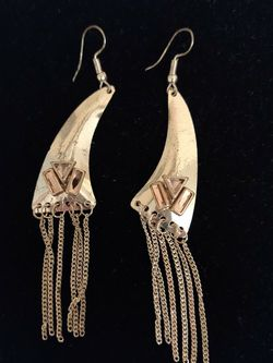 Gold Toned Dangle Earrings for Sale in St. Louis,  MO