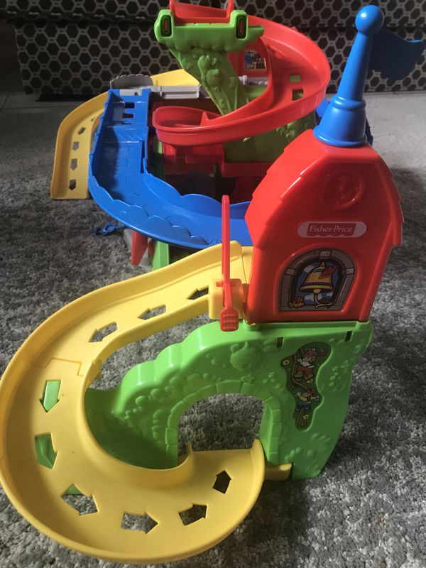 Fisher Price Hot Wheels car toy for toddlers