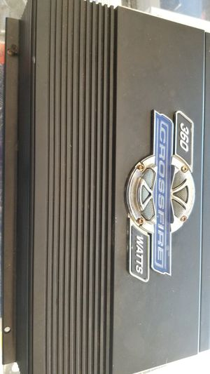 crossfire bass amp for Sale in Oakland, CA