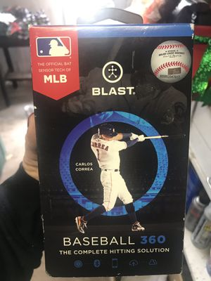 Blast Baseball 360 bat swing analyzer -New never opened for Sale in Burlingame, CA