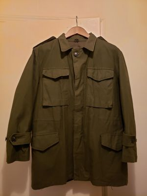 Vintage Greek military field jacket (1976) Sz Medium for Sale in Howell Township, NJ