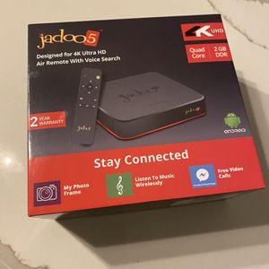 Jadoo 5 Tv Box - Brand New Never Used! for Sale in Corona, CA