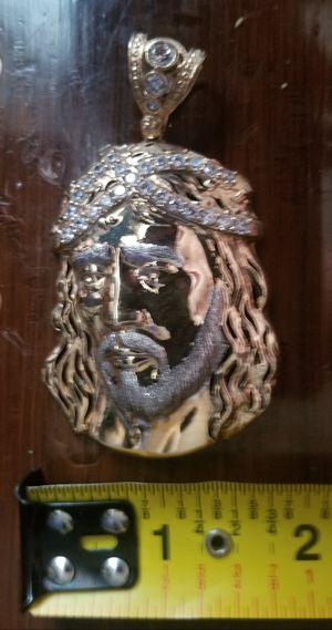 HUGE 10K JESUS PENDANT for Sale in Chicopee, MA