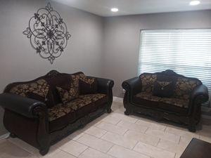 Sofas sillones sala for Sale in Dallas, TX