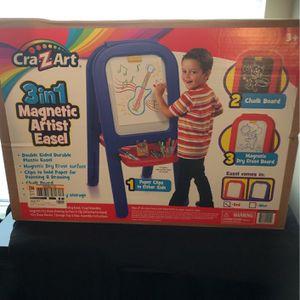 Cra-Z-Art 3in1 Magnetic Artist Easel...Brand New ! for Sale in Upper Marlboro, MD