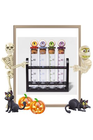 Target Hyde & EEK! 4pk Test Tube Halloween Shot Glasses for Sale in Los Angeles, CA