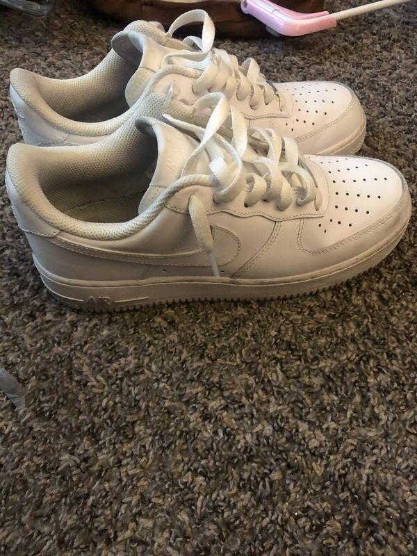 Size 7 1/2 Nike Air Force ones