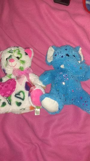 Bear and elephant stuffed animal for Sale in Vancouver, WA