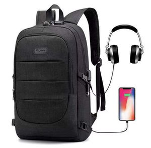Brand New Laptop Backpack, Business Anti Theft Waterproof Travel Backpack with USB Charging Port for Sale in Alta Loma, CA