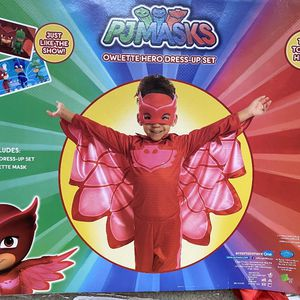 Owlette costume PJ masks dress up, 4-6 years old for Sale in Kirkland, WA