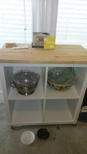 Two Rolling Kitchen Islands for Sale in Seattle, WA