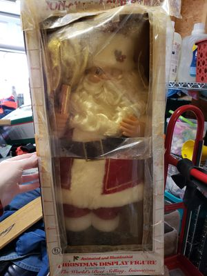 Vintage Telco animated Santa Claus for Sale in Greenville, SC