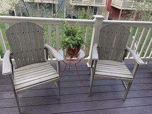 Set of Wooden Adirondack Chairs for Sale in Glen Burnie, MD