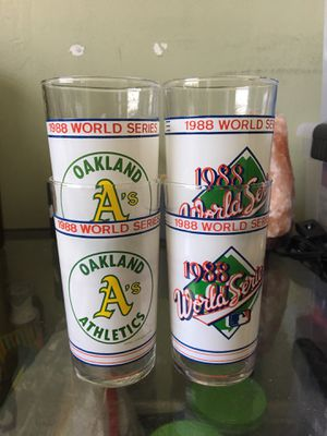 Oakland A's Collectible Glasses for Sale in Daly City, CA