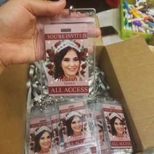 Quinceanera VIP PASSES. Custom made for Sale in Phoenix, AZ