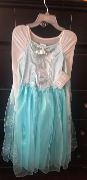 Elsa's dress for little girls size 9-10 for Sale in West Puente Valley, CA
