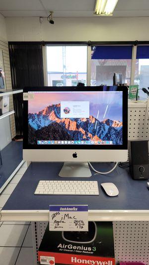 2015 imac i5 desktop for Sale in San Antonio, TX