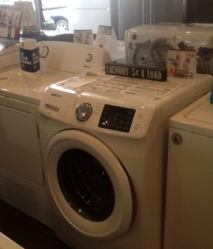 New open box FL Samsung washer WF42H5000AW for Sale in Whittier, CA