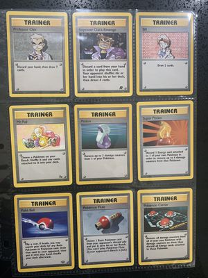 23 Pokémon Trainer Cards for Sale in Los Angeles, CA