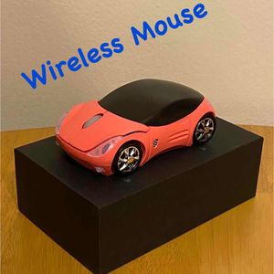 Brand new Pink 2.4GHz Wireless Mouse Cool 3D Sport Car Shape Ergonomic Optical Mice with USB Receiver for Sale in Queens, NY