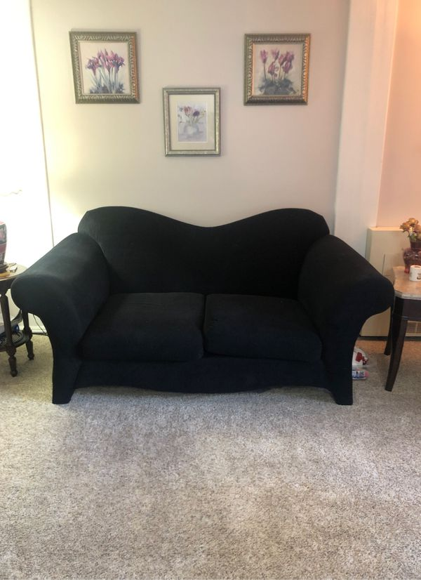 Gorgeous black couch