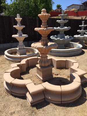 Fountain Garden Art and large statues for Sale in El Cajon, CA