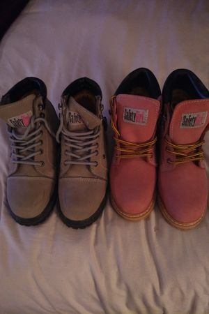 Safety Girl Work Boots 2 Pairs for Sale in Deerfield Beach, FL