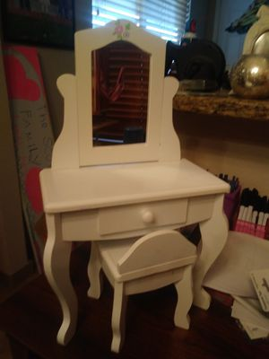 American Girl doll vanity and stool for Sale in Avondale, AZ