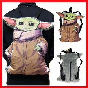 Brand New! Star Wars Mandalorian Baby Yoda Stuffed toy Plush backpack the kid disney Disneyland world for Sale in Los Angeles, CA