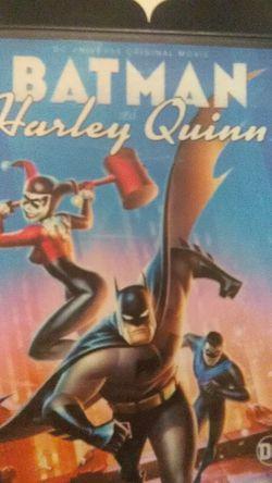 Batman HARLEY QUINN animated movie dvd for Sale in Yakima,  WA