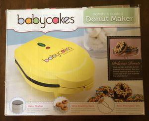 Babycakes Nonstick Coated Donut Maker for Sale in Menasha, WI