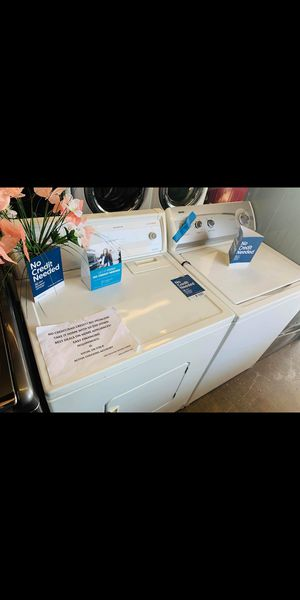 Top load washer and dryer for Sale in Long Beach, CA