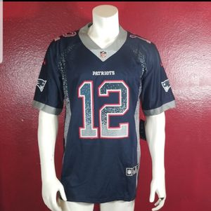 STITCHED NEW ENGLAND PATRIOTS FOOTBALL JERSEY for Sale in CA, US