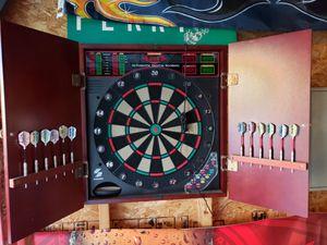 Electronic dart board for Sale in Richland, MI