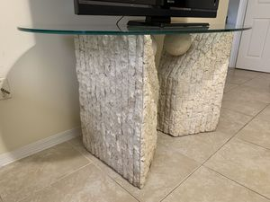 Glass TV Stand for Sale in Coconut Creek, FL