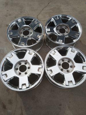 18 inch rims for sale or trade for mustang rims for Sale in Bakersfield, CA