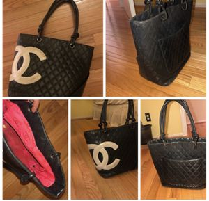 CHANEL tote with a box for Sale in Fairfax, VA