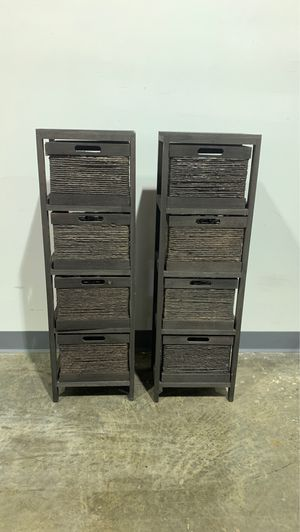 Pair Basket Storage Shelves for Sale in Allentown, PA
