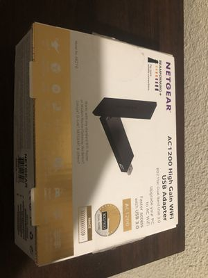 Netgear WiFi USB Adapter for Sale in Clovis, CA