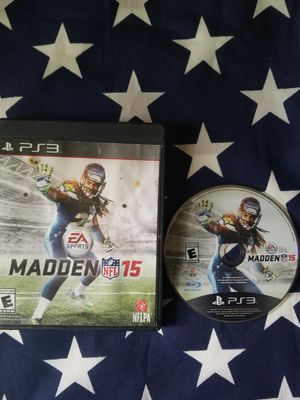 Madden NFL 15 (PS3) for Sale in US