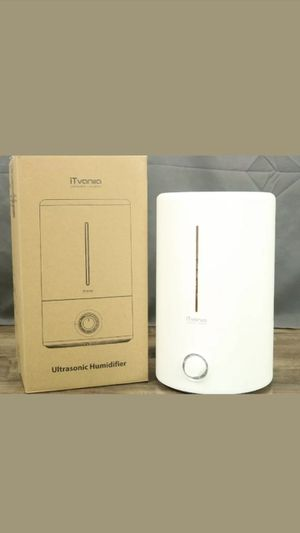 iTvanila Ultrasonic Humidifier HU-C2 - Slightly used for Sale in San Diego, CA