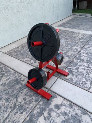 195 lbs Olympic weights tree included for Sale in Stockton, CA
