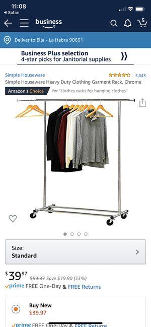 Clothing rack for Sale in La Habra Heights, CA