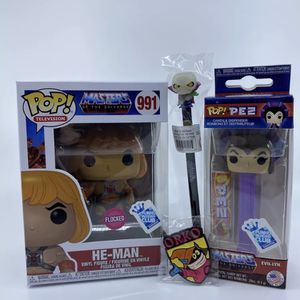 He Man 991 Flocked Funko Pop And Accessories Box for Sale in Artesia, CA